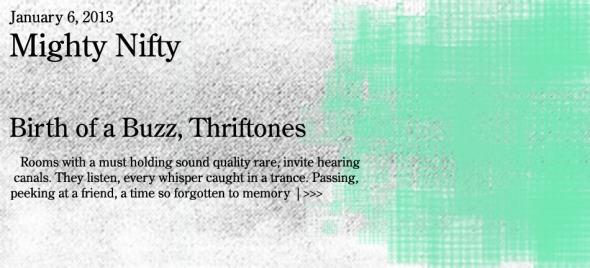 thriftones