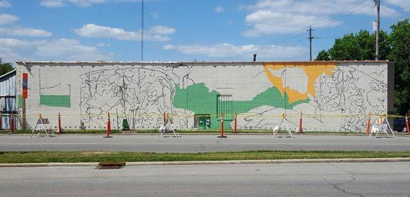 3 stallis mural