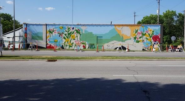 4 stallis mural